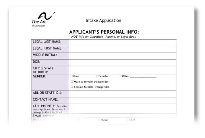 Intake Application